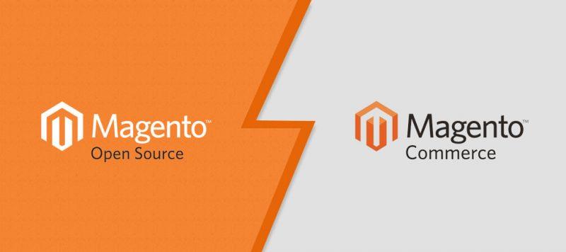 Magento Open Source vs Magento Commerce