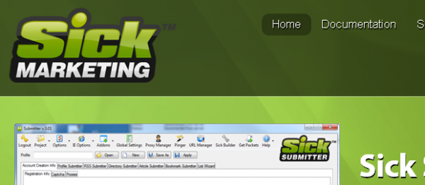 Automatisez vos backlinks avec Sick Submitter