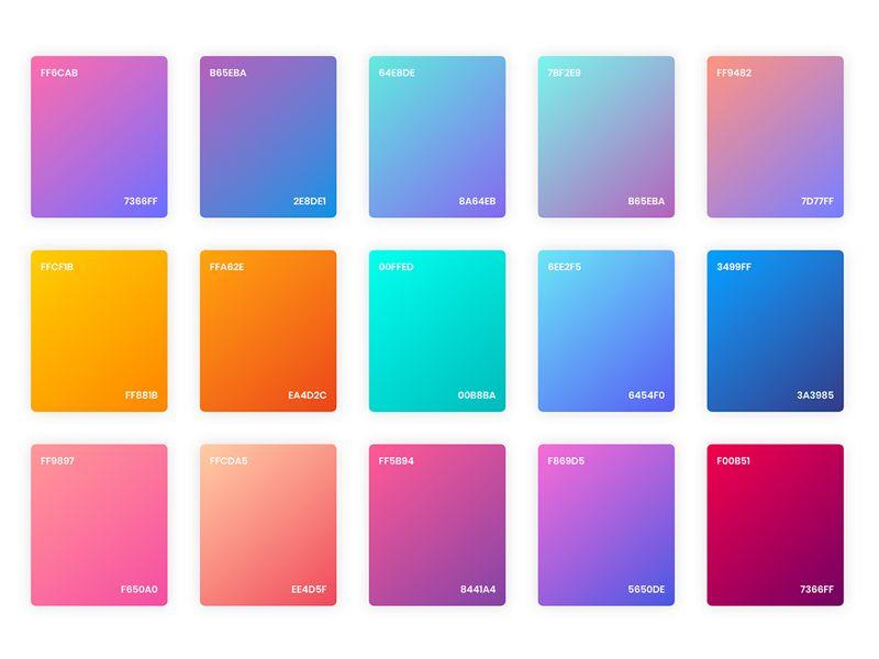 Dégradé de couleur