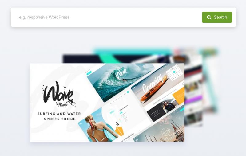 Wordpress Theme Forest