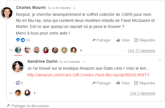 Modules de commentaires pour site internet