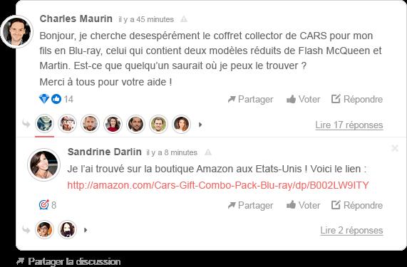 Commentaire Site Internet