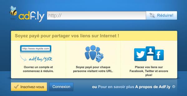 Monétiser un lien avec un raccourcisseur d'URL