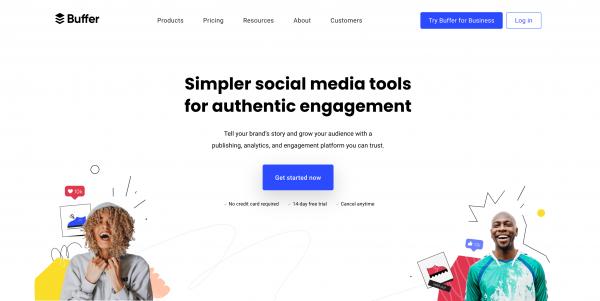 Planifier ses publications sociales avec Buffer