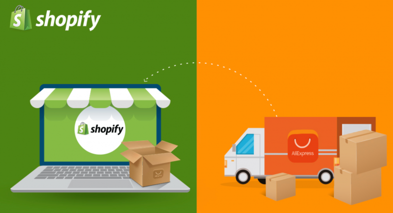 Shopify et AliExpress