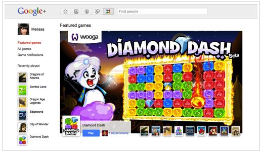 jeux google plus
