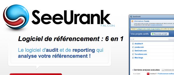 Logiciel de référencement, Analyse du référencement | SeeUrank