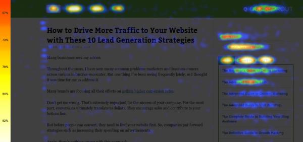 Outils pour visualiser les clics sur votre site web