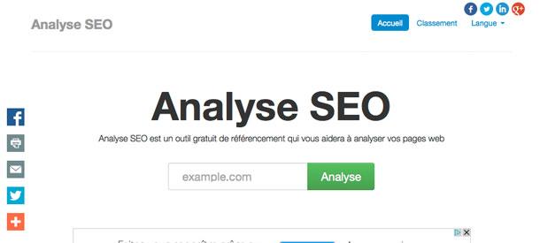 Analyse SEO de votre site