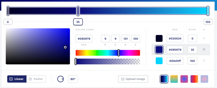 CSS Gradient — Generator Maker and Background