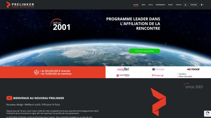Prelinker Premium Affiliation Partner 1