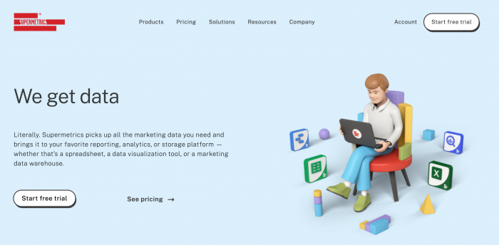 Supermetrics the easiest way to move your marketing data