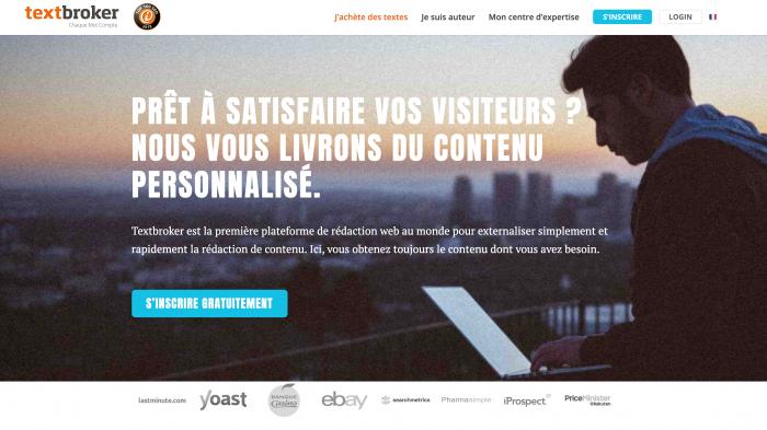 Textbroker la 1ère plateforme de rédaction web au monde