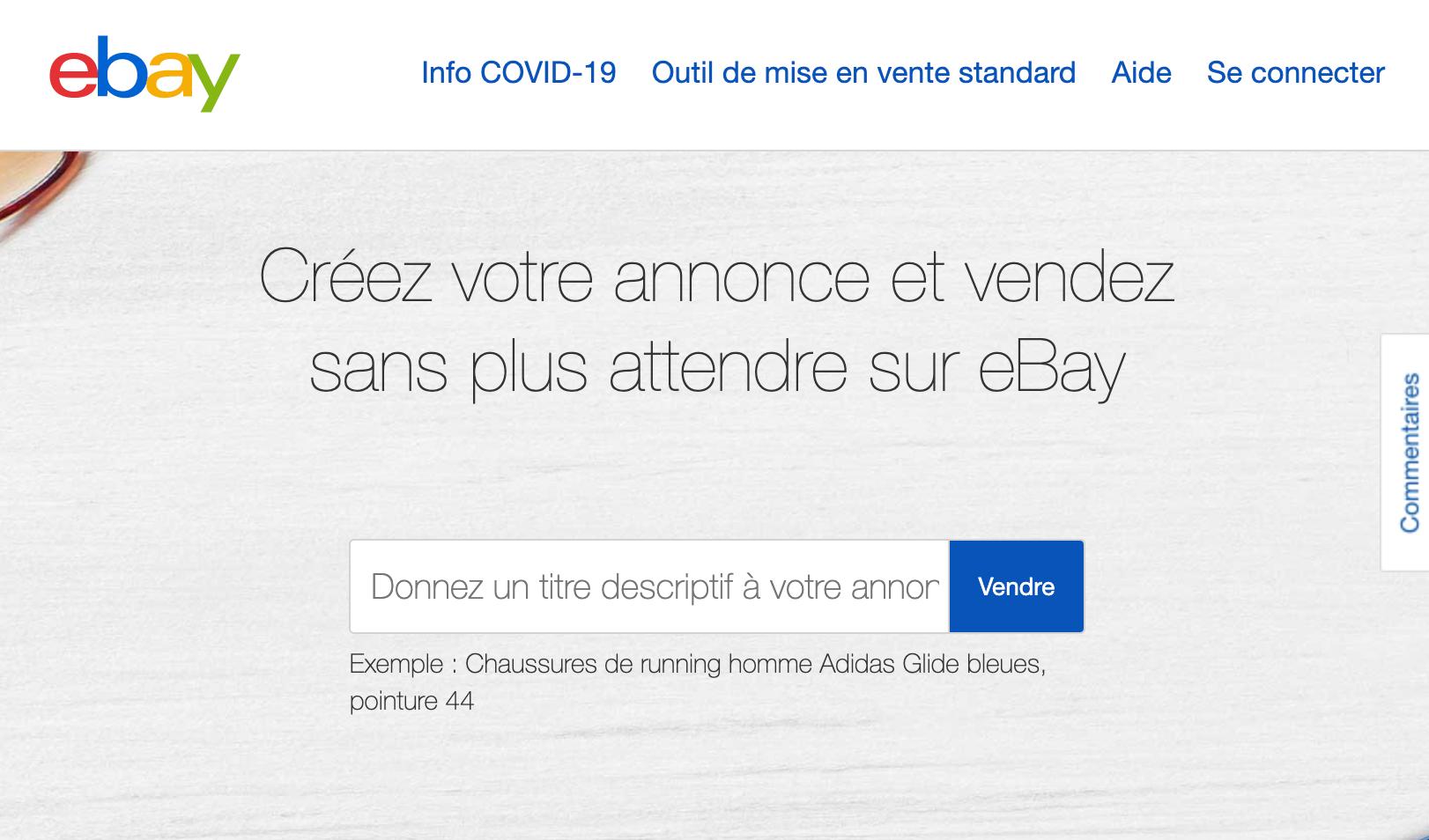 Vendez eBay