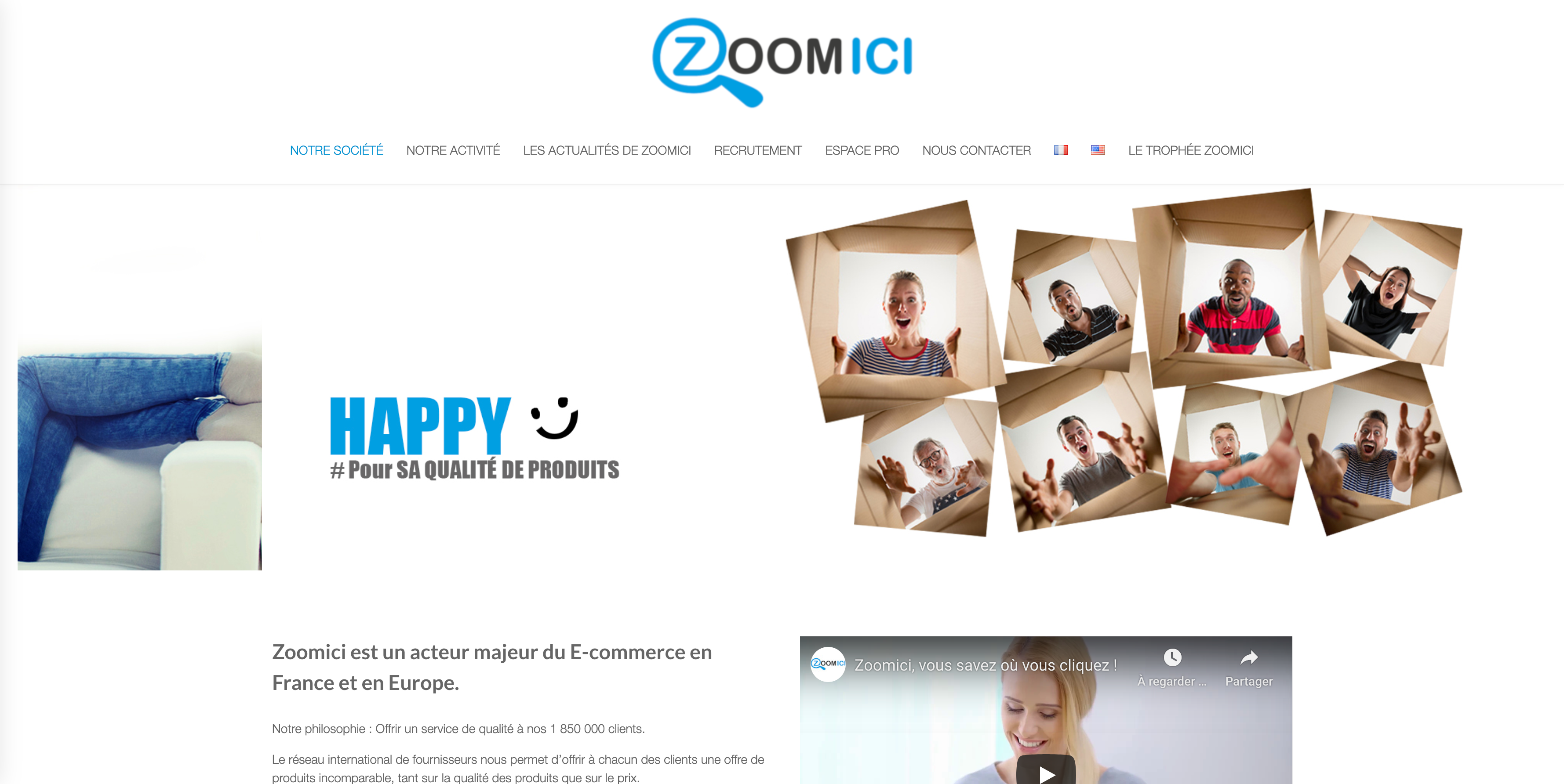 ZOOMICI Zoomici l acteur incontournable du E commerce