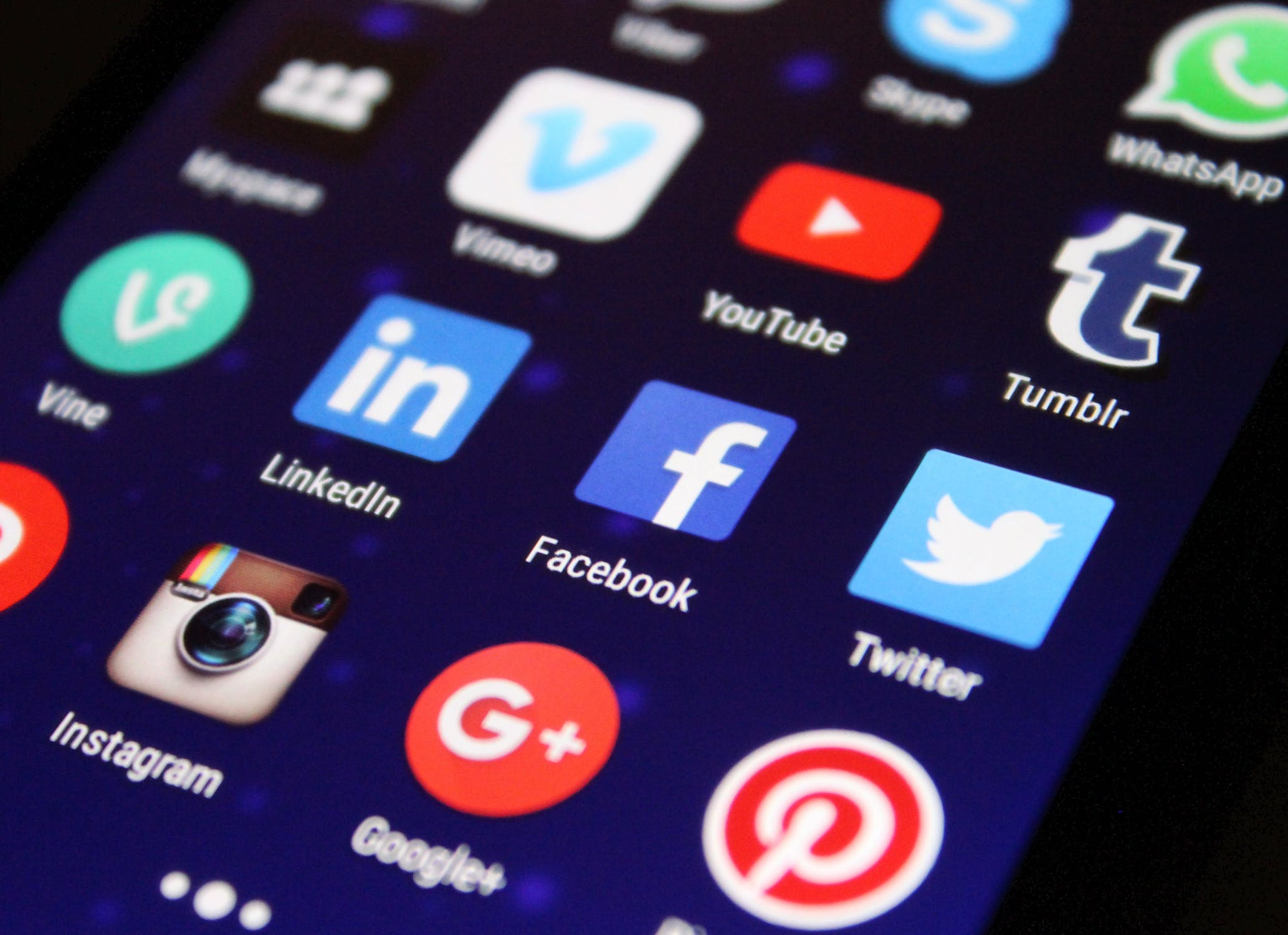 creer un profil social