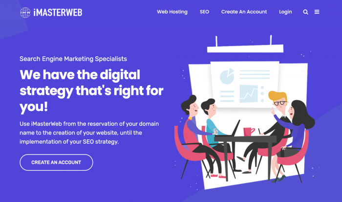 iMasterWeb Search Engine Marketing and Website Hosting