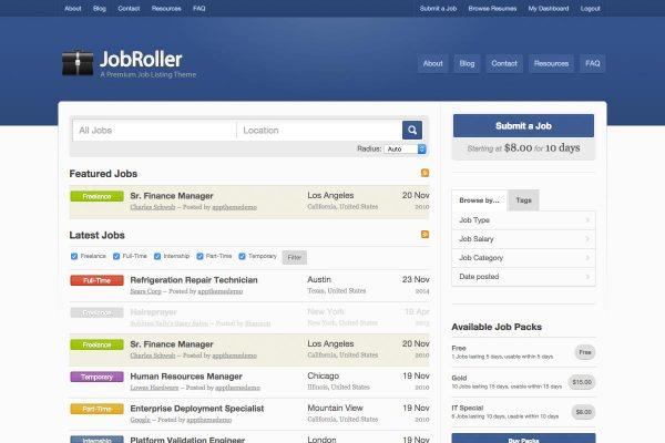 Créer un site d'offre d'emploi