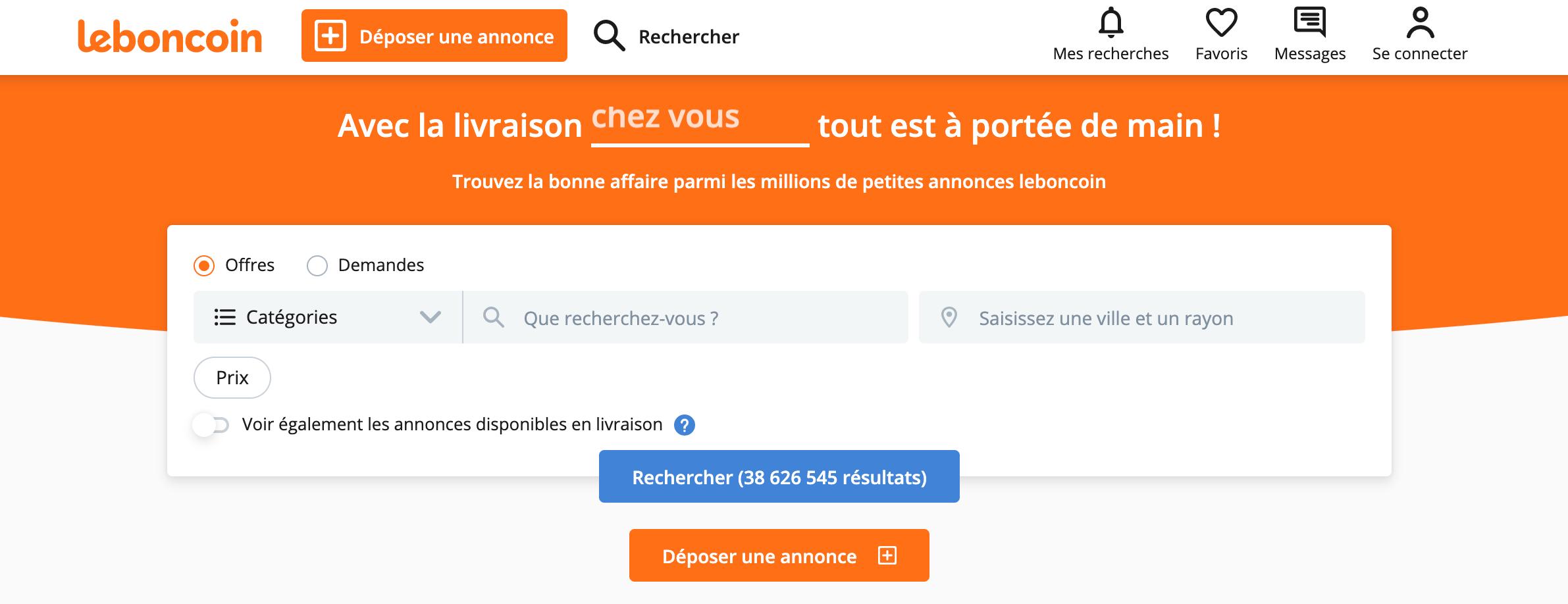 leboncoin site de petites annonces gratuites